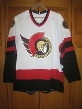 Vintage Ottawa Senators CCM hockey jersey men's M white NHL