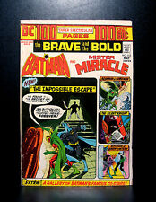 COMICS: DC: Brave and the Bold #112 (1974), Batman/Mr Miracle, 100 pages - RARE