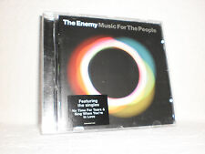 """CD THE ENEMY: """"Music For The People"""" 2009 Brit-Rock Oasis Paul Weller Jam Clash"""