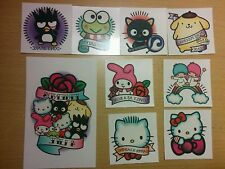 Hello Kitty Supercute Friendship Festival Sanrio Exclusive Set Of 9 Tattoos