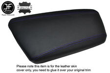 PURPLE STITCHING LEATHER ARMREST LID SKIN COVER FITS KIA OPTIMA 2012-2015