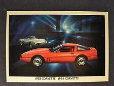 1984 Chevrolet Corvette Postcard Sales Brochure Excellent Original 84
