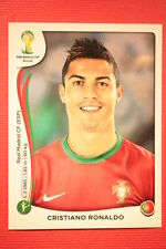 Panini BRASIL 2014 N. 523 CRISTIANO RONALDO PORTUGAL WITH BLACK BACK TOPMINT!!