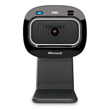 Microsoft LifeCam HD-3000 Webcam - Black T3H-00011, 720p HD 16:9 Video Chat,