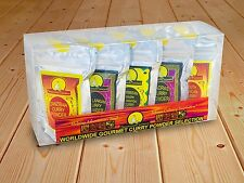 Seasoned Pioneers Gourmet Curry Powder Spice Blends 10 x Resealable Packets Set