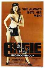 Angie Undercover Cop Poster 01 Metal Sign A4 12x8 Aluminium