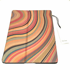 NUOVO Con Scatola Paul Smith In Pelle iPad Air Swirl Cover Titolare Stand iPhone Apple