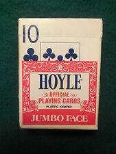 Hoyle Jumbo Face Playing Cards - Nevada Finish