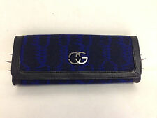 Obey Women's Clutch Purse Fear of the Dark Cobalt NEW Metal Spikes