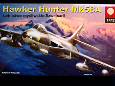HAWKER HUNTER MK 58A BRITISH FIGTHER, ZTS PLASTYK, SCALE 1/72
