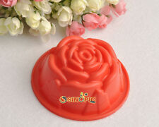 Rose Flower Cake Mold Soap Silicone Mold Flexible Chocolate Cookies Fondant Mold