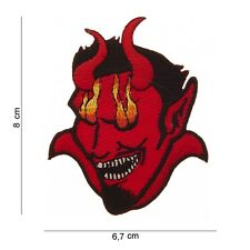 Patch écusson Diable   , Bikers,custom,USA, Country,Décoration ,air soft Paintba