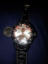 Croton Gladiator Brown Swiss Automatic Watch/Alligator Band