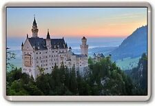 FRIDGE MAGNET - NEUSCHWANSTEIN CASTLE - Large Jumbo - Bavaria Germany
