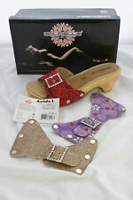 Ladies Galibelle Mid Heel Mules Interchangeable Uppers RRP £41.50 EU38 Lola 1