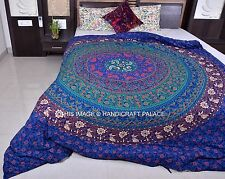 Indian Handmade Mandala Hippie Duvet Cover Blanket Ethnic Comforter Quilt Cover