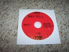 2011 Ford Mustang Shop Service Repair Manual DVD GT Convertible Coupe 3.7L 5.0L
