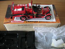 MATCHBOX MODELS OF YESTERYEAR FIRE ENGINE SERIES YFE22-M 1916 FORD MODEL T  #2