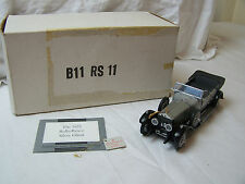 Franklin Mint Rolls-Royce Silver Ghost 1925 1.24 Scale Diecast Model (B11 RS11)