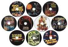Sci-Fi Film/Movie Collection Plan 9 from Outer Space, Zontar, Cosmos, Killers...