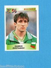 EUROPA/EURO '96 - PANINI - Figurina n.143- ZVETANOV - BULGARIA -NEW