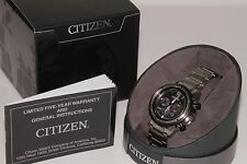 CITIZEN ECO DRIVE TITANIUM CRONOGRAPH MENS WATCH CA424082E