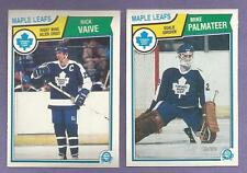 1983-84 OPC O-PEE-CHEE Toronto Maple Leafs Team Set