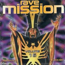 Rave mission vol. 16 - 2cd-NEUF emballage d'origine-transe techno