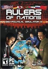 Rulers of Nations: Geo-Political Simulator 2 (PC, 2010) *New,Sealed*