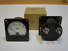 Petter  75A AC Analogue current panel ammeter Meter Vintage 1978 Bakelite NEW