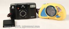 SET OF 2 MINOLTA POINT AND SHOOT CAMERAS