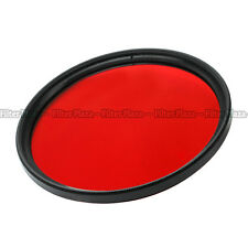 46mm Red Color filter Lens For Panasonic G1 GH1 GF1 14mm f/2.5 20mm f/1.7 46 mm