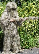 Full body Ghillie Hunters Desert deep cover Suit Camo Military Army Survival