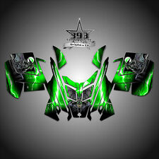 2010 - 2015 POLARIS PRO RMK - RUSH Decal Sticker Wrap Graphics Guardian Green