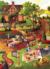 Mary's Quilt Country 500+ Piece Jigsaw Puzzle by SunsOut
