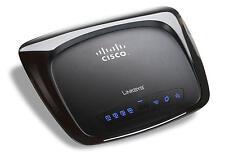 Cisco Linksys WRT110 RangePlus 4-Port 10/100 Wireless-G WiFi Router