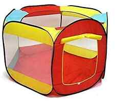 Kiddey Ball Pit Play Tent for Kids - 6-sided Playhouse for Children - Fill with