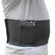"Large Concealed Belly Band Holster Elastic Band Pistol Holster Fits 38-48"" Waist"