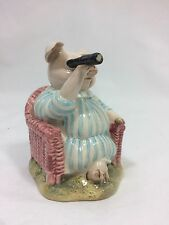 "Vintage Beswick Beatrix Potter Little Pig Robinson Spying England 1987 3.5"" Tall"