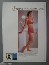 R&L Ex-Mag Advert: Charnos Red Bra & Knickers / Russall & Bromley Shoes
