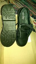 Footsure CENTEK  Ladies BLACK LEATHER Steel Toe Safety Shoe SIZE 3 AIR RELAX
