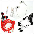 Lot of 3.5mm in ear Sound Isolating flat Earbud Earphone for CD players Mp3 PSP