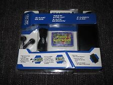 INTEC NINTENDO GAMEBOY MICRO STARTER KIT CASE EARPHONES SCREEN PROTECTOR NEW