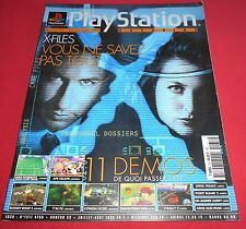 Playstation Magazine [n°33 J/A 99] PS1 X-Files Silent Hill *JRF