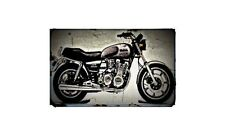 1980 xs1100g Bike Motorcycle A4 Photo Poster