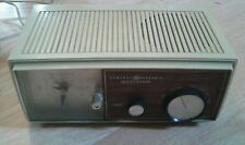 General Electric Vintage Solid State Clock AM Radio