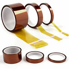 5/10/20/50mm -33m Kapton Tape High Temperature Heat Resistant Polyimide BGA UK