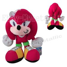 "Sonic the Hedgehog Knuckles the Echidna 24cm / 9.6"" Soft Plush Stuffed Doll Toy"