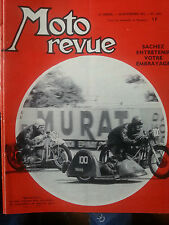 moto revue n1665 16nov 1963  side car sport matchless650