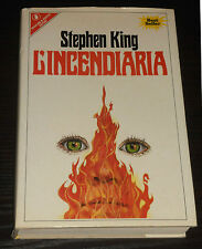Stephen King - L'INCENDIARIA - Sperling & Kupfer 1982 PRIMA EDIZIONE
